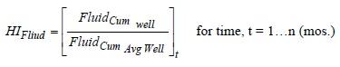 Production Heterogeneity Indexes Equation 1