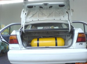 Tanque de Gas Natural Vehicular